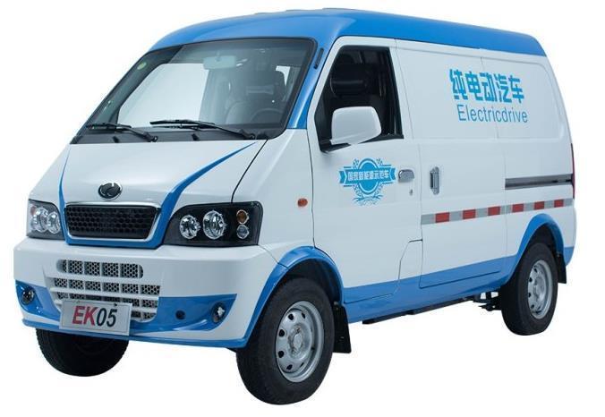 瑞驰电动汽车面包车瑞驰EK05电动物流车