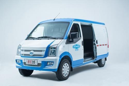 罗湖瑞驰EC35纯电动面包车新能源物流车免费送牌