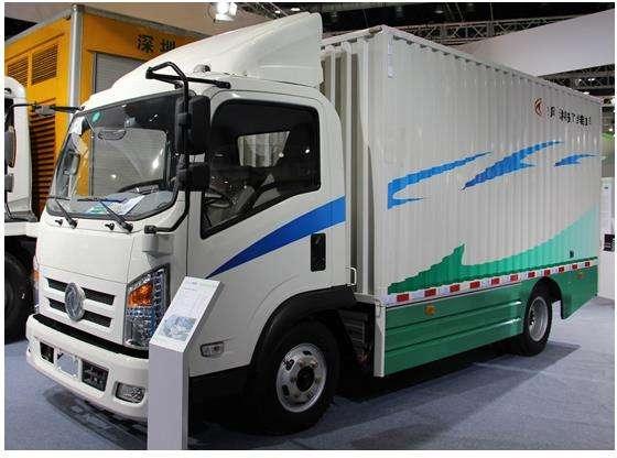 南山4.2米货车 东风厢式货车 新能源大货车